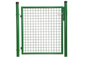 Gartentor, grün, 1,25m hoch  -  1,00m breit - Stabile Ausführung