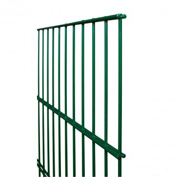 Stabmatte / Zaunfeld, 8-6-8 mm, grün, 1230mm hoch - 2,51 m lang