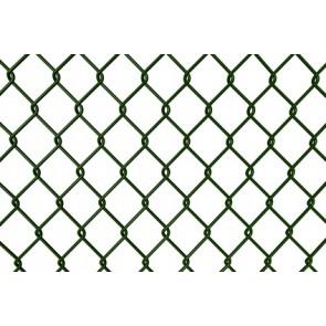 Maschendrahtzaun Rolle 80 cm hoch, 15 m lang, grün, 50er Masche