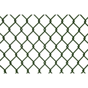 Maschendrahtzaun Rolle 150 cm hoch, 15 m lang, grün, 50er Masche
