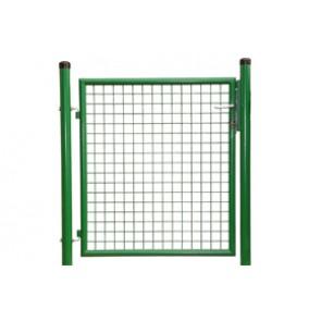 Gartentor, grün,  1,00m hoch - 1,00m breit - Stabile Ausführung