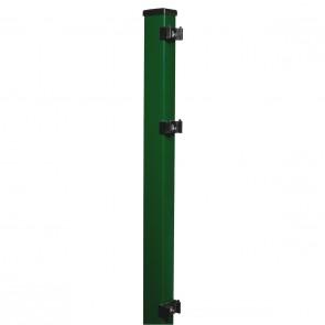 Pfosten grün für 1630mm Stabmattenzaun