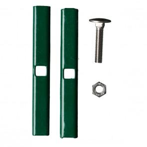 Stabmattenzaun  Verbinder | Mattenverbinder, grün, anthrazit oder verzinkt