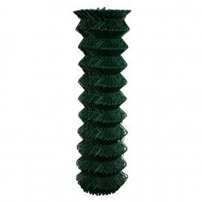 Maschendrahtzaun Rolle 200 cm hoch, 25 m lang, grün