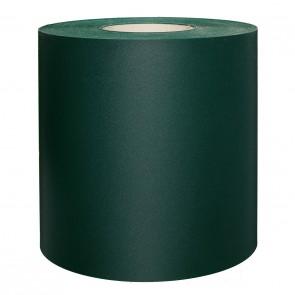 PVC Sichtschutzstreifen für Doppelstabmatten, schwere Ausführung, 50 m Rolle, grün