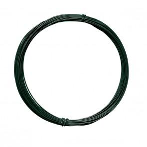 Bindedraht, grün, 2 mm Durchmesser, 100 m Rolle