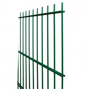 Stabmatte / Zaunfeld, 8-6-8 mm, grün, 2030mm hoch - 2,51 m lang
