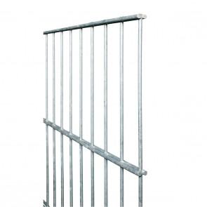 Stabmatte / Zaunfeld, 8-6-8 mm, feuerverzinkt, 1430mm hoch - 2,51 m lang