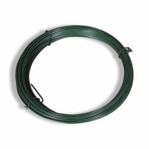 Spanndraht, grün, 3,4mm Durchmesser, 55 m lang